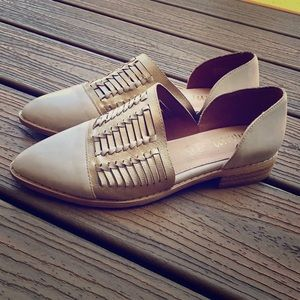 mi.im Freesia Hand Woven Pointed Flats Shoes 6.5
